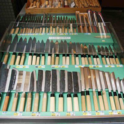 Couteau japonais : les différentes familles