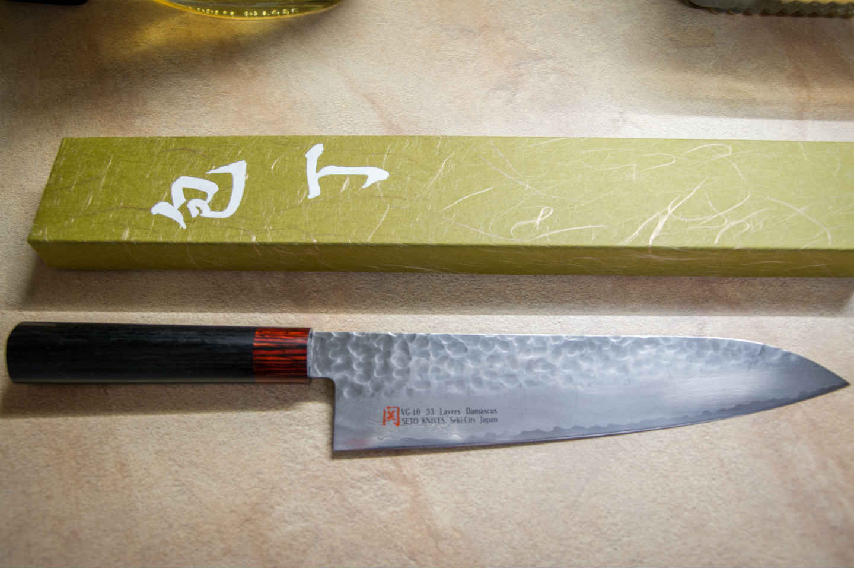 Gyuto : couteau japonais