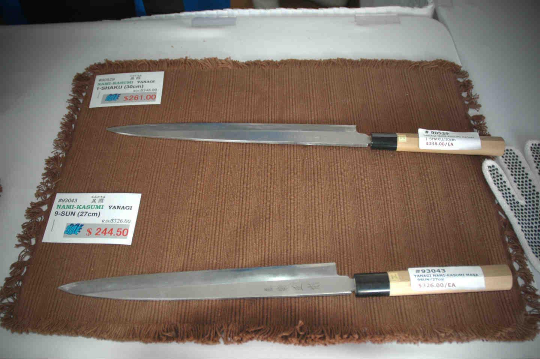 Yanagiba : couteau japonais à Sashimi