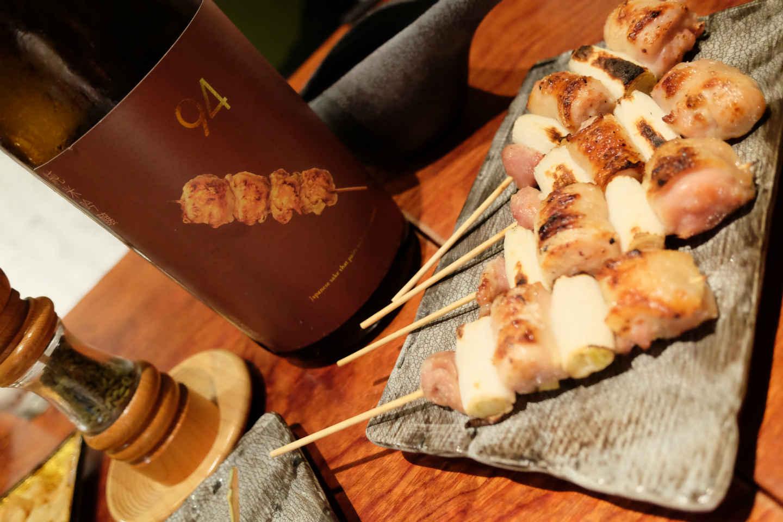 Couteau japonais pour Yakitori